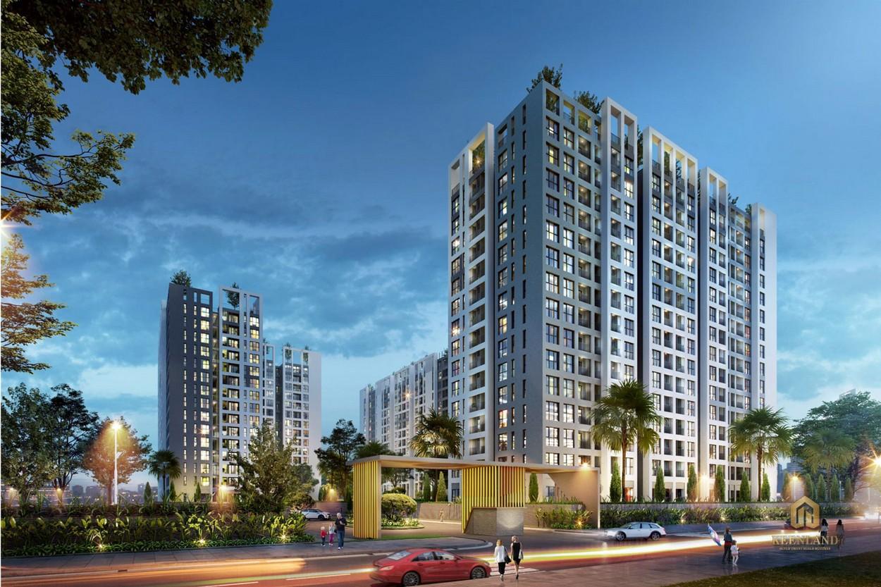 Phối cảnh dự án căn hộ chung cư Cộng Hòa Garden Quận Tân Bình