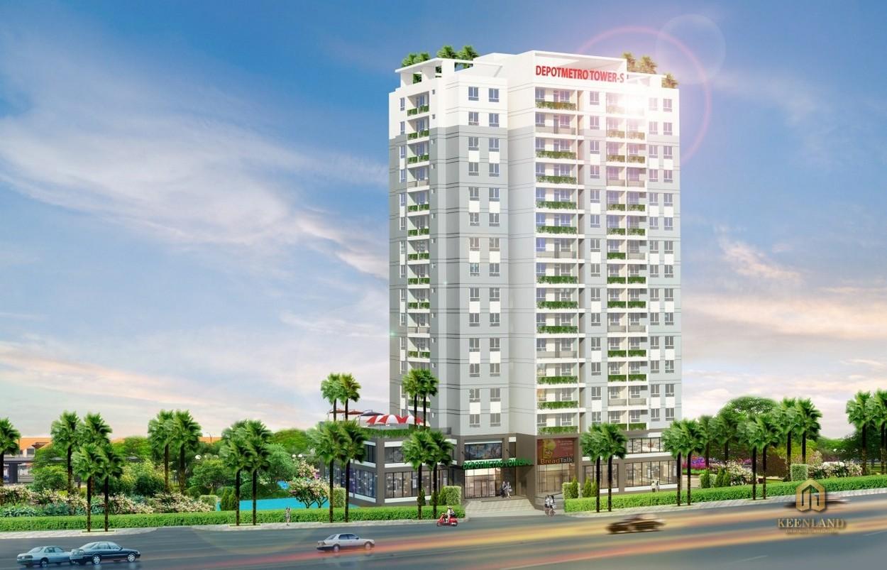 Phối cảnh dự án Depotmetro Tower - s Tham Lương