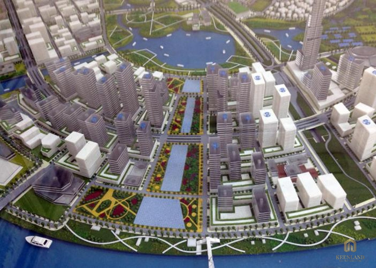 Phối cảnh khu đô thị Eco Smart City tại Thủ Thiêm