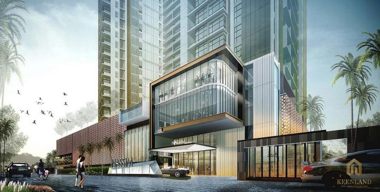 Phối cảnh dự án căn hộ cao cấp The Nassim Thảo Điền