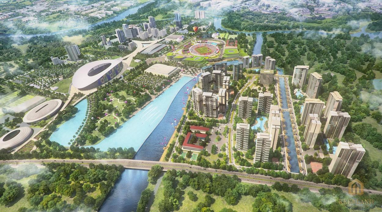 Phối cảnh dự án Saigon Sports City quận 2