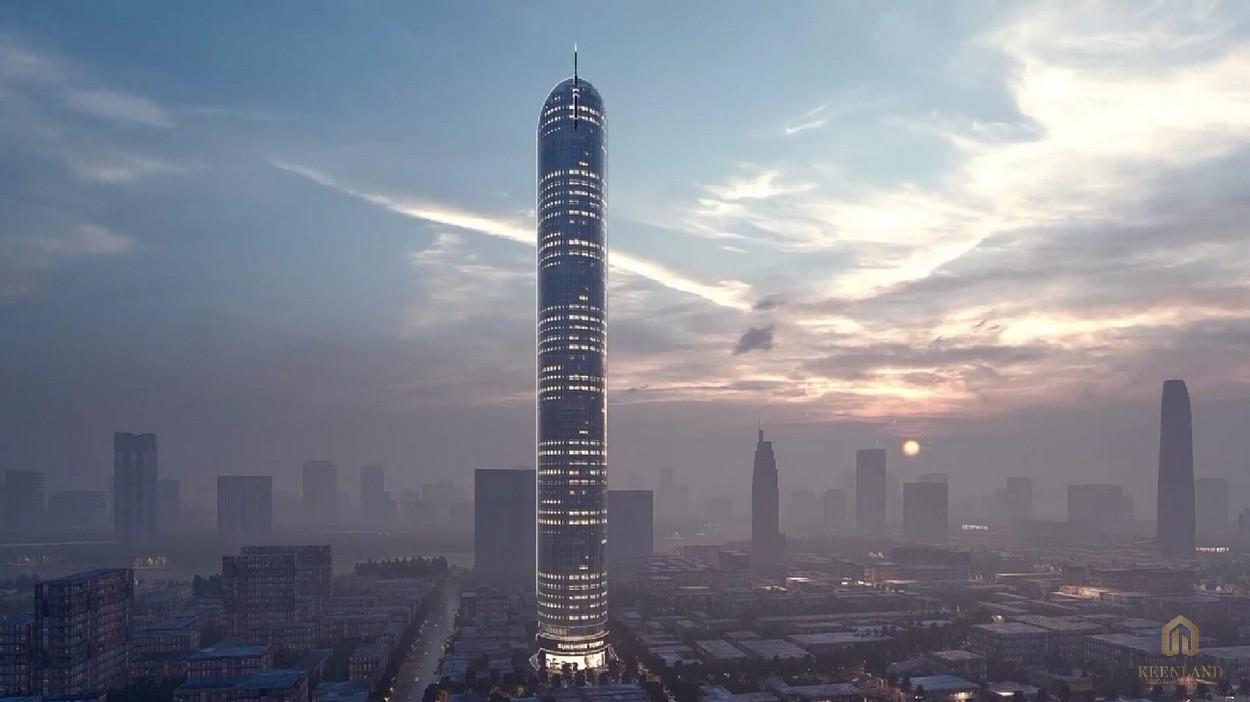 Phối cảnh dự án Sunshine Tower tại quận 1 sầm uất