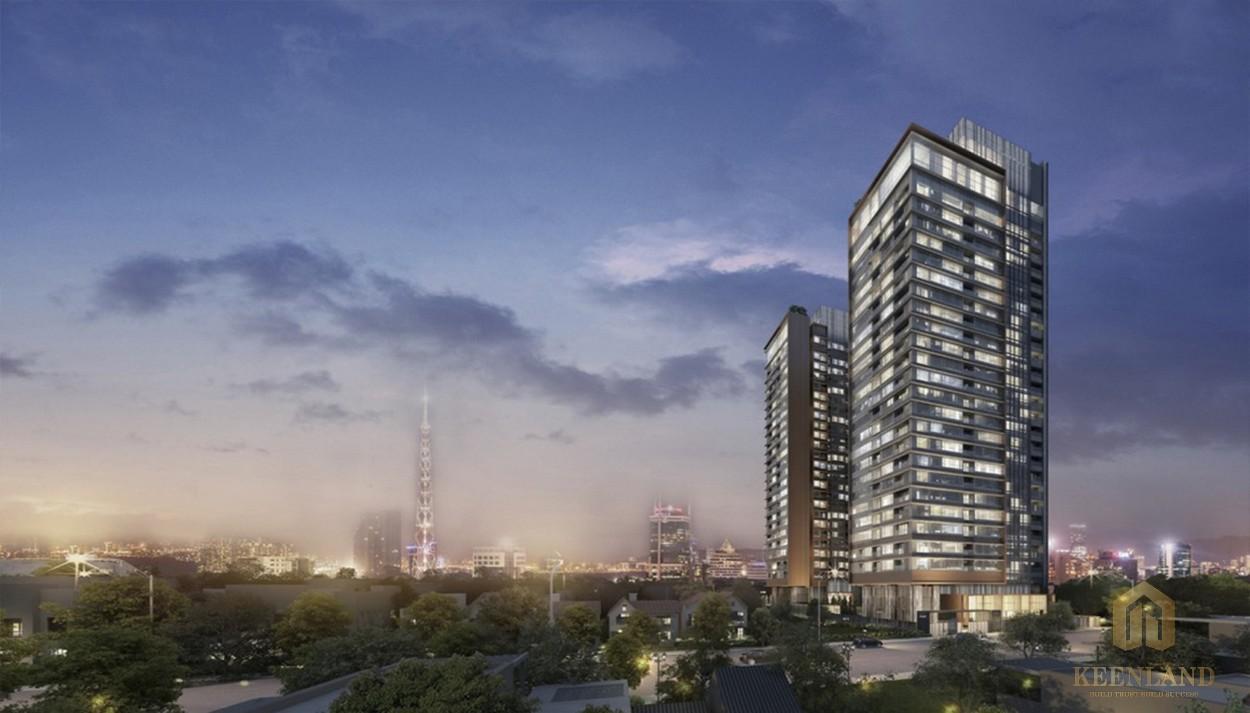 Phối cảnh dự án căn hộ cao cấp The Marq quận 1