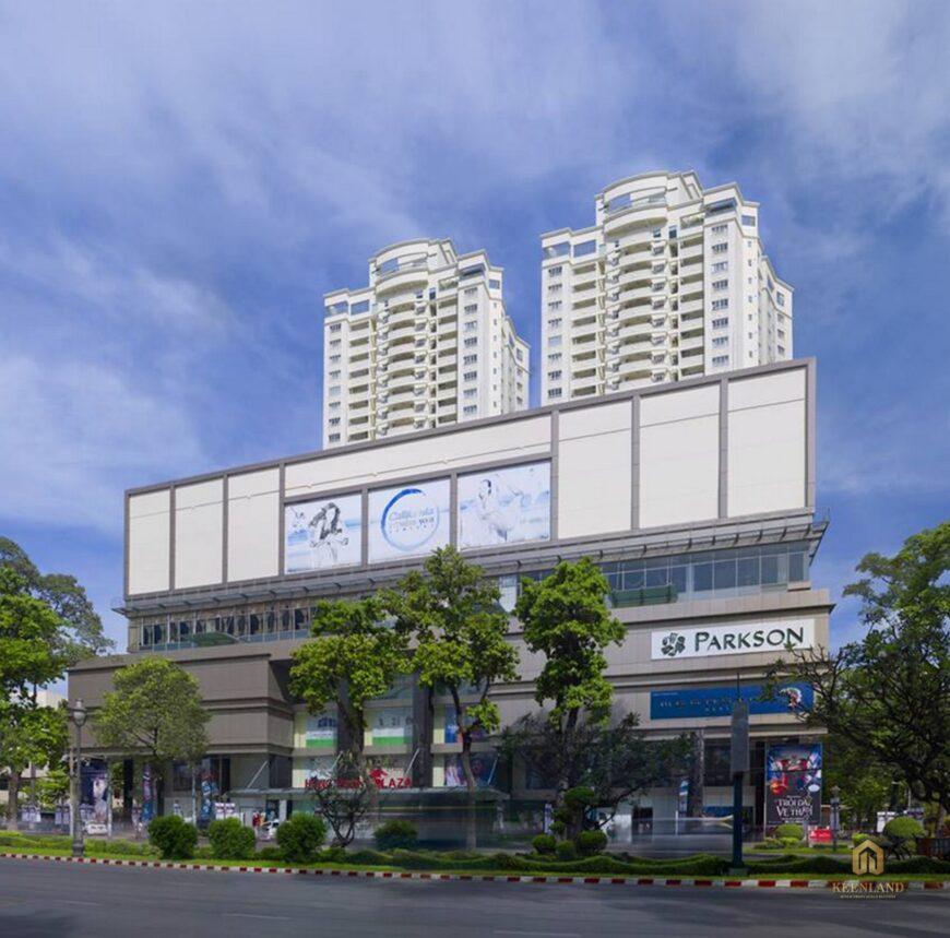 Phối cảnh dự án Hùng Vương Plaza