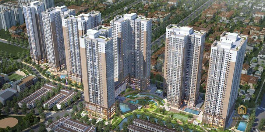 Phối cảnh dự án Khu đô thị An Phú - An Khánh