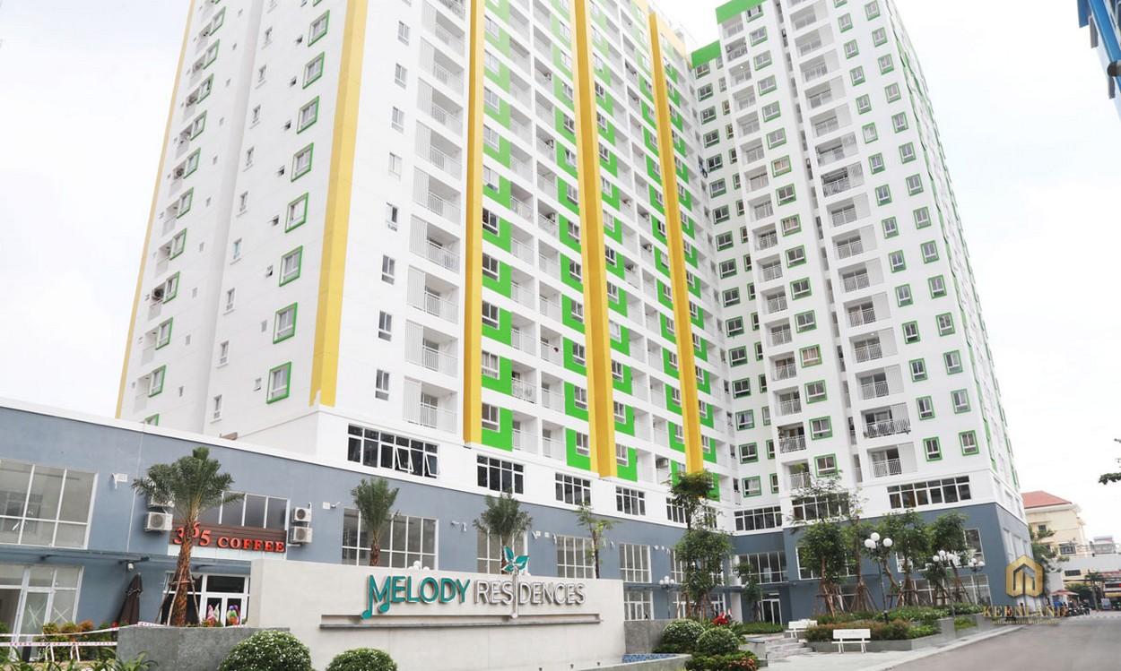 Tổng thể dự án căn hộ Melody Residences