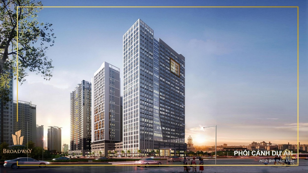 Phối cảnh dự án căn hộ Saigon Broadway quận 2