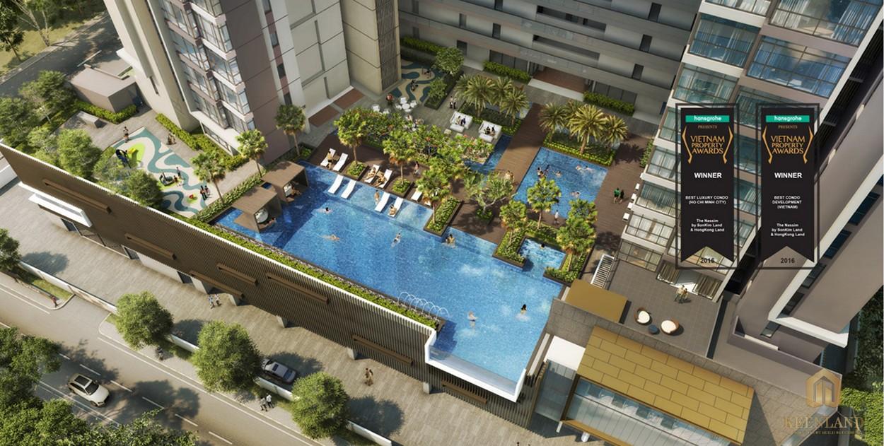 Phối cảnh dự án khu đô thị cao cấp The Nassim Thảo Điền