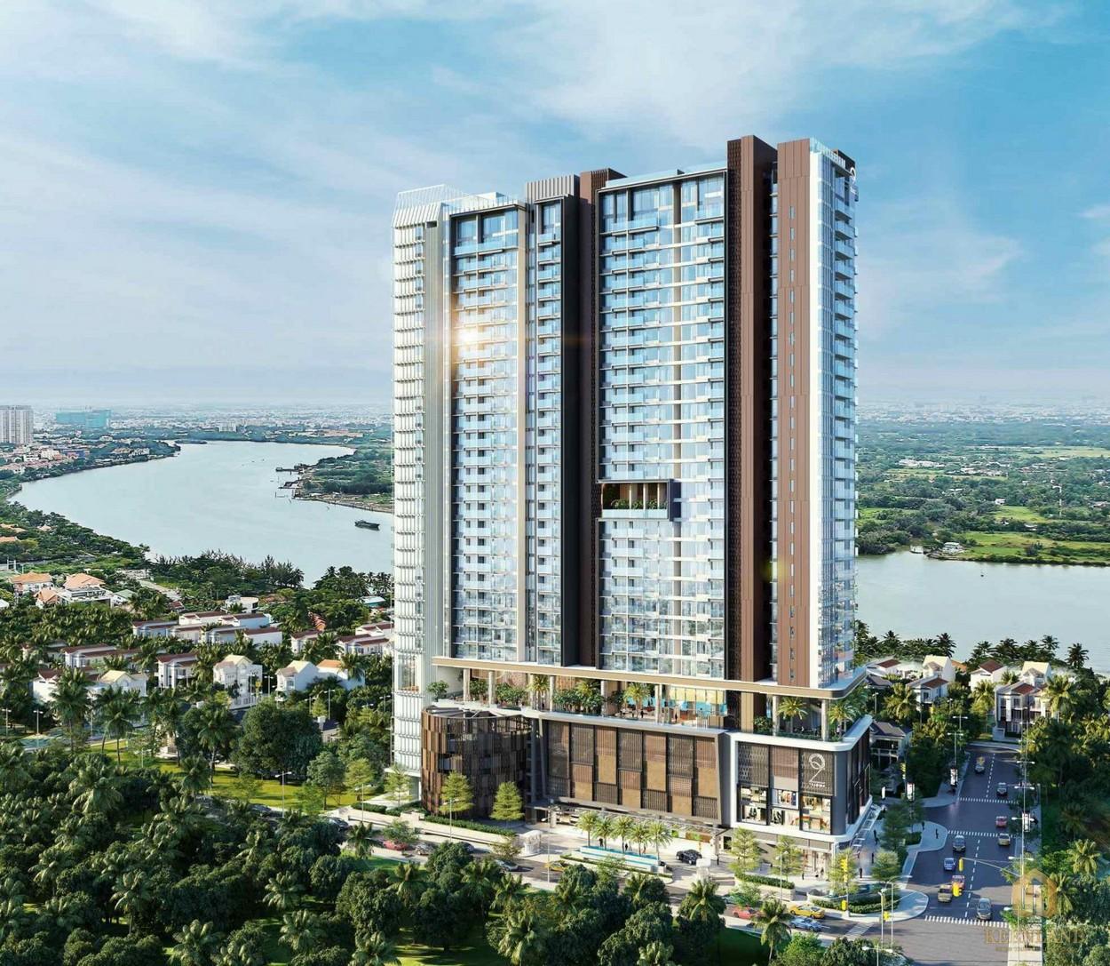 Phối cảnh tổng thể dự án chung cư Mozac Thảo Điền