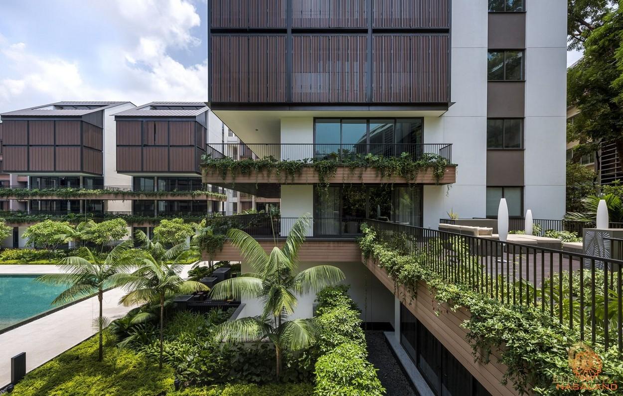 Phối cảnh dự án căn hộ cao cấp The Nassim Thảo Điền Quận 2