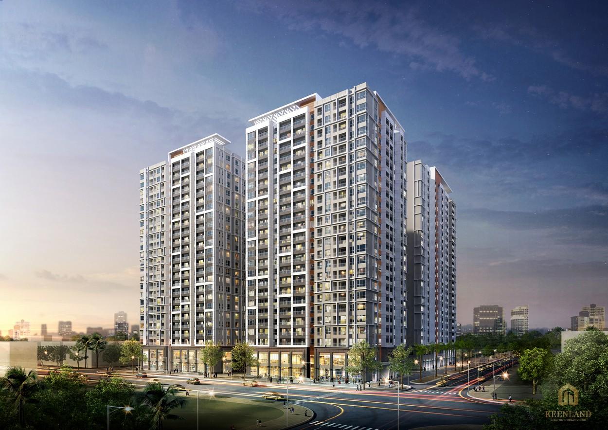 Phối cảnh dự án căn hộ cao cấp, đáng sống Victoria Village quận 2