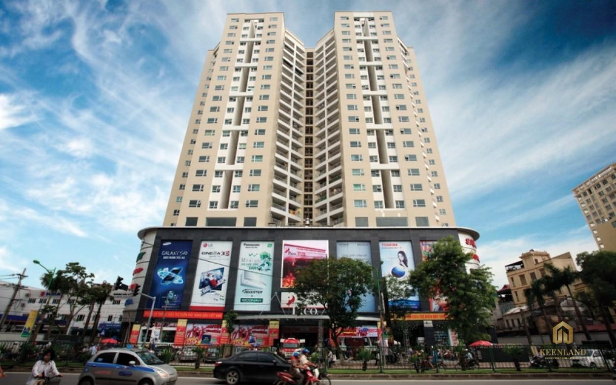 Phối cảnh dự án Xuân Thủy Tower