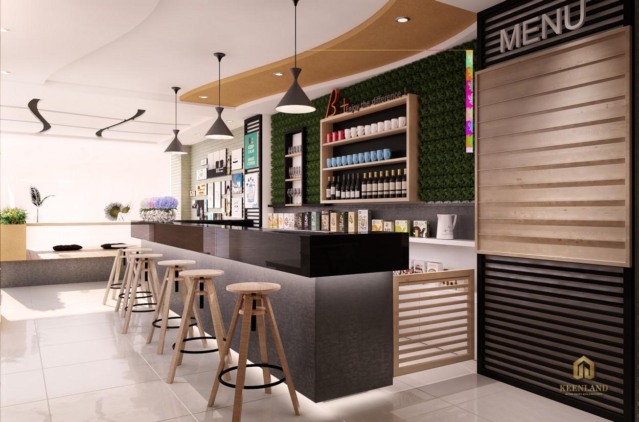 Quầy bar nội khu dự án 245 Hoàng Văn Thụ