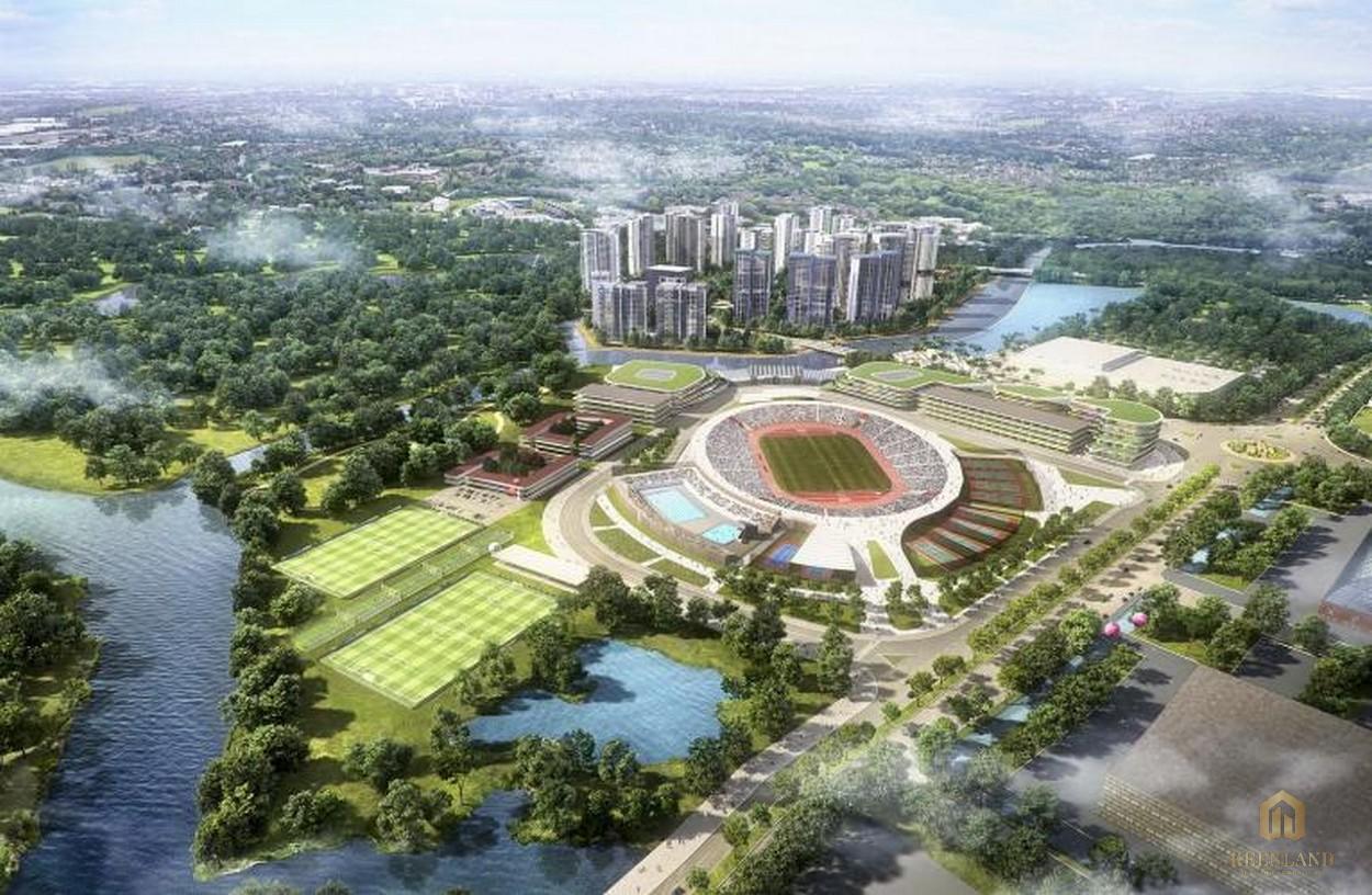 Phối cảnh dự án phức hợp thể thao SaiGon Sports City