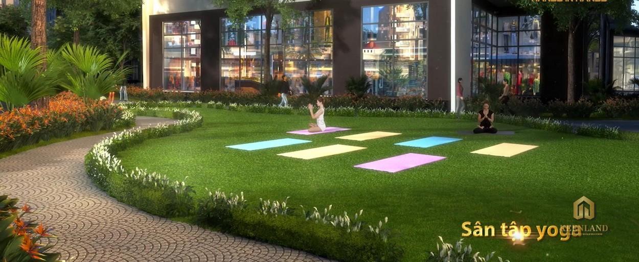 Sân tập yoga tại dự án Nam Phúc Le Jardin