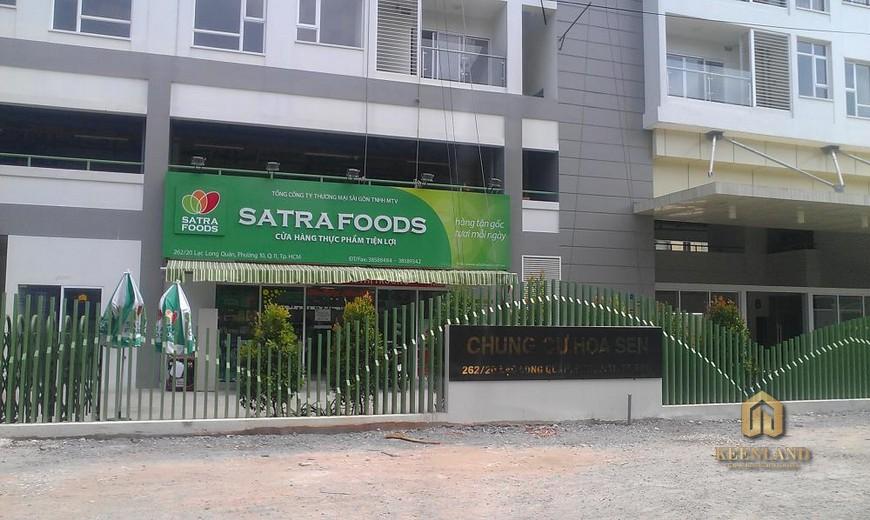 Phối cảnh Satra Food
