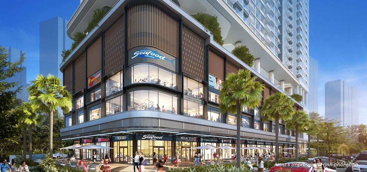 Shophouse dự án Q2 Thảo Điền
