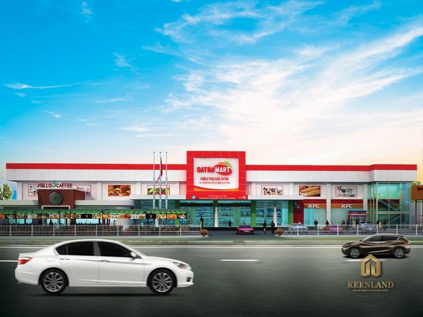 Phối cảnh siêu thị Sài Gòn