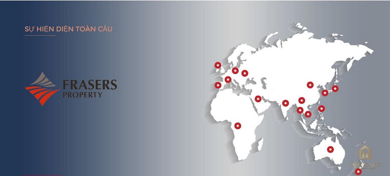 Sự hiện diện toàn cầu của CĐT dự án Q2 THẢO ĐIỀN