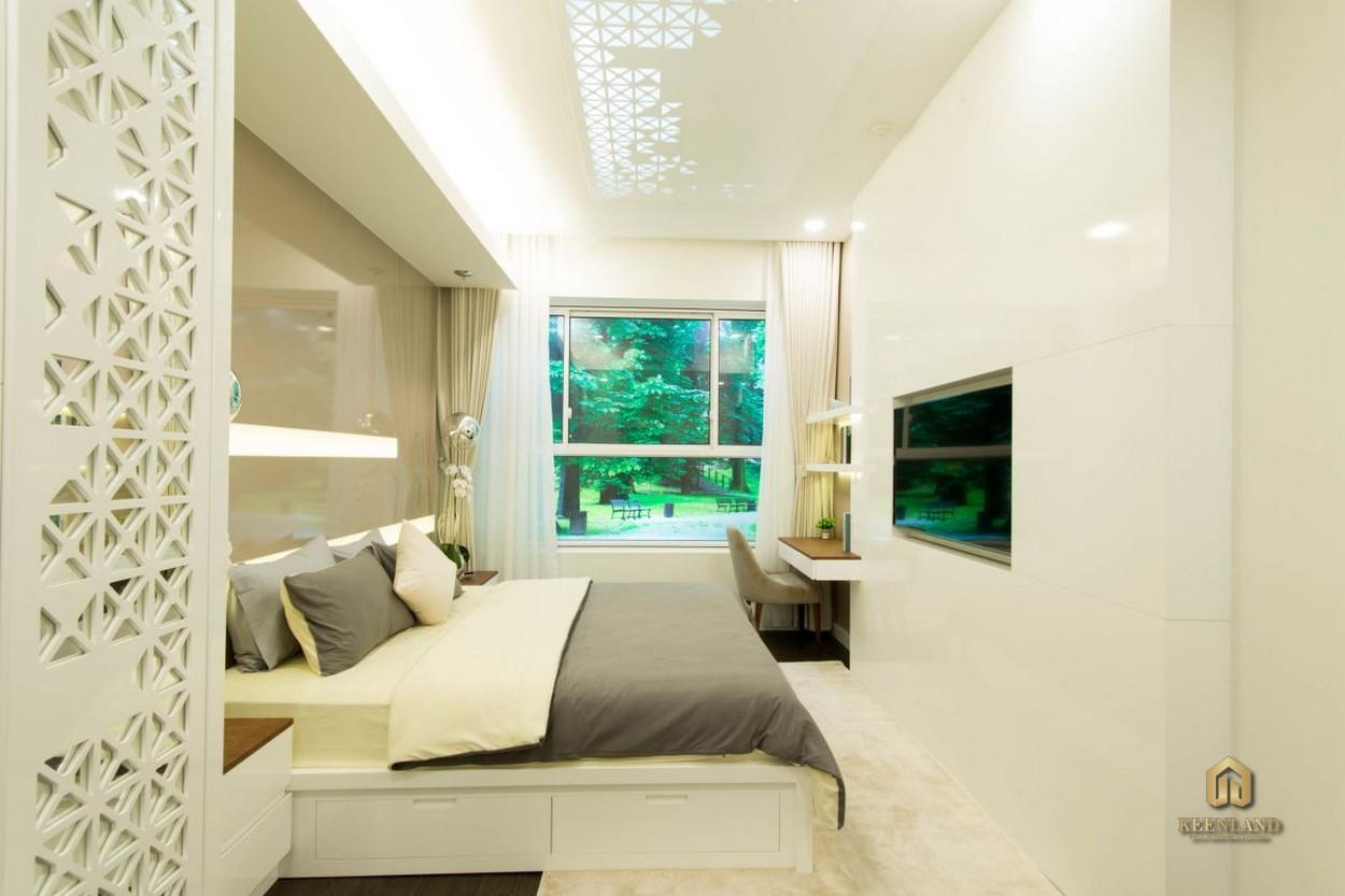 Phòng ngủ căn hộ Newberry Residence