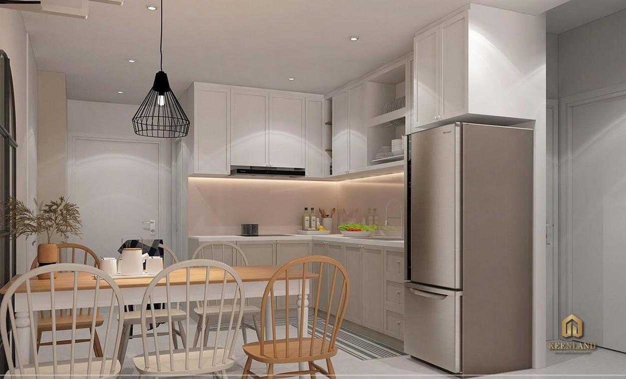 Nhà bếp căn hộ mẫu Carrilon 3