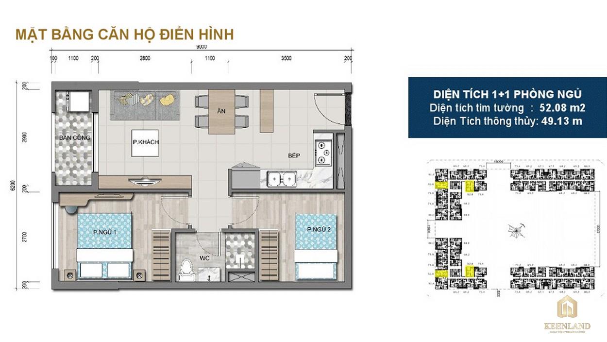 Thiết kế chi tiết căn hộ 3PN dự án Victoria Village Q2