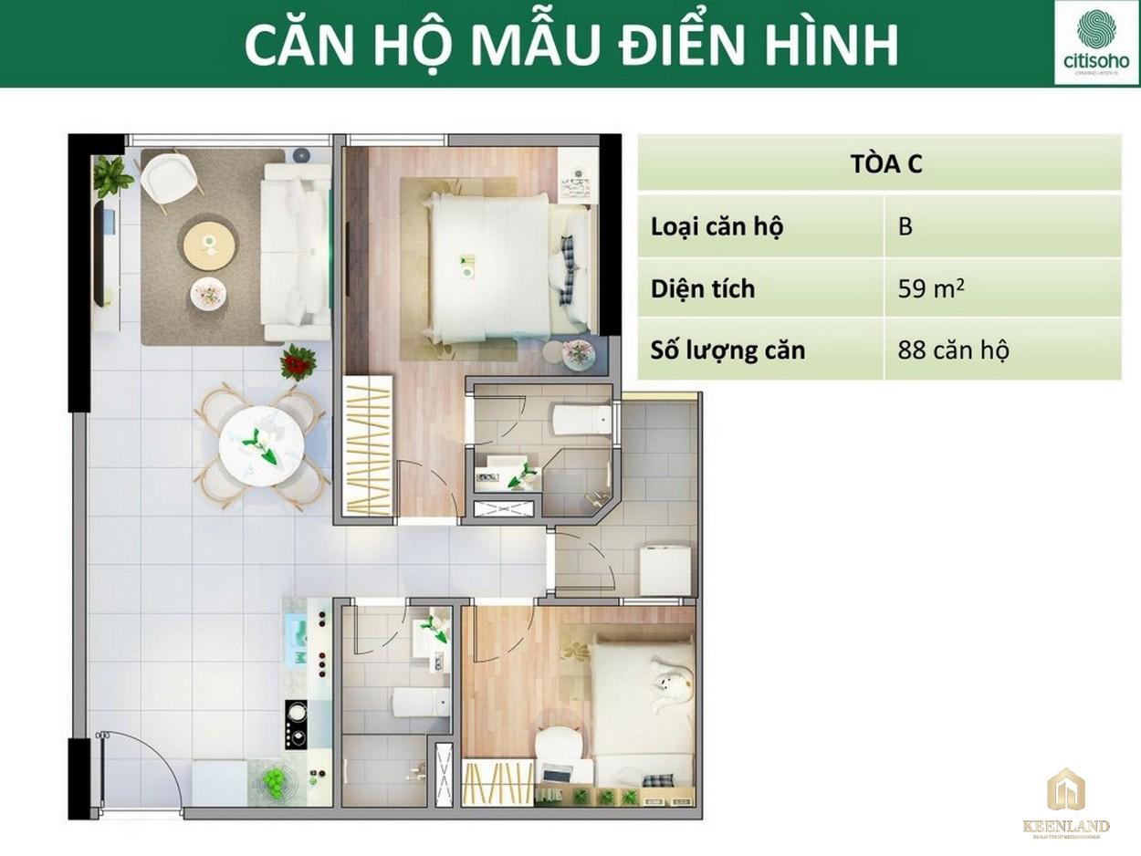 Thiết kế dự án căn hộ chung cư Citisoho Quận 2