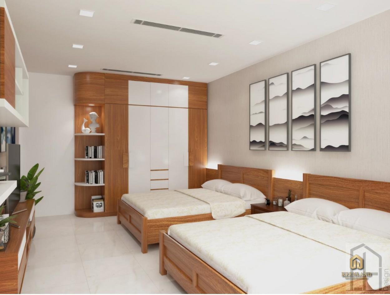 Phòng ngủ căn hộ Đào Duy Từ Quận 10