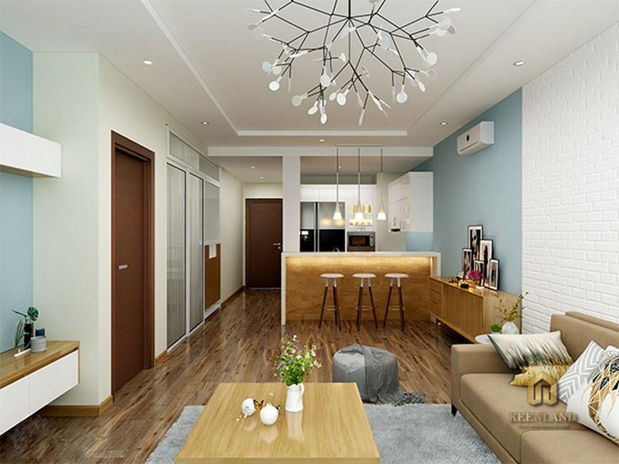Thiết kế căn hộ mẫu chung cư Nguyễn Kim
