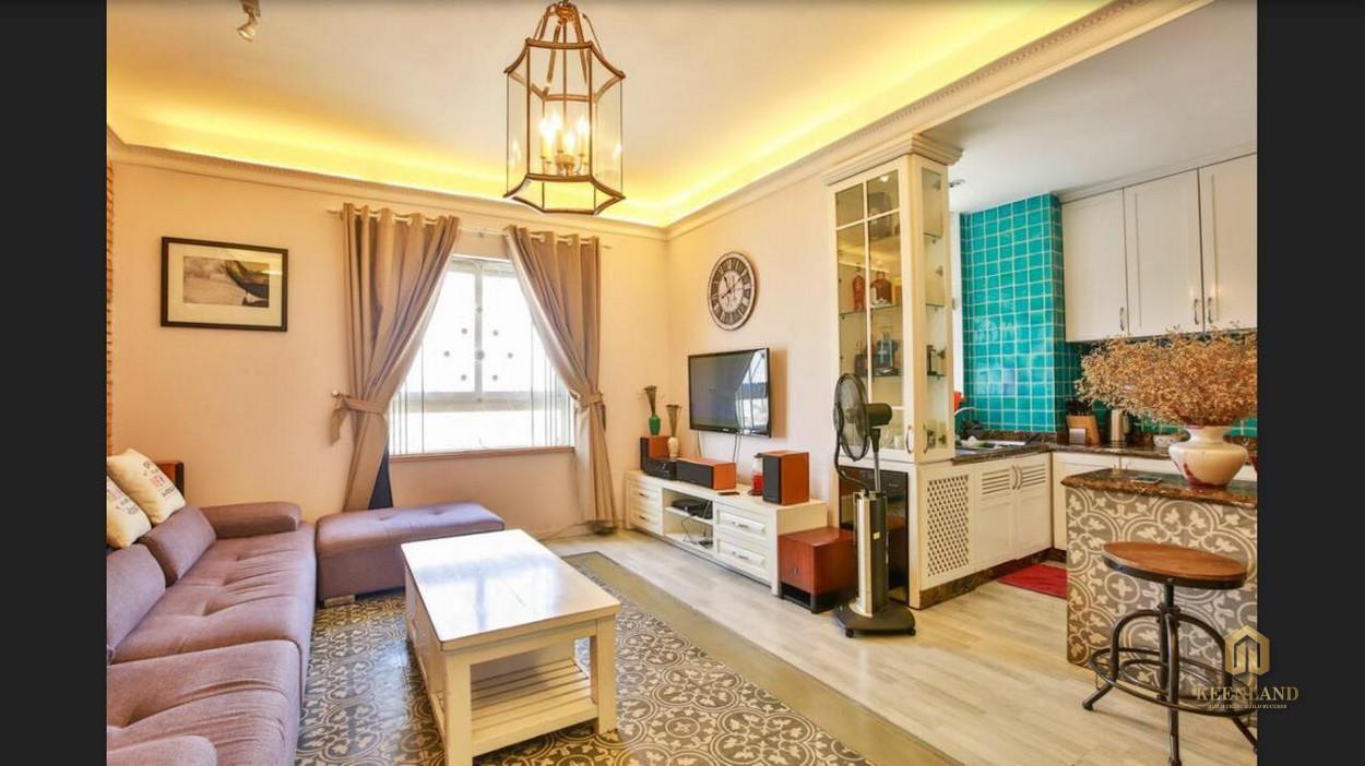 Thiết kế phòng khách căn hộ Copac Square