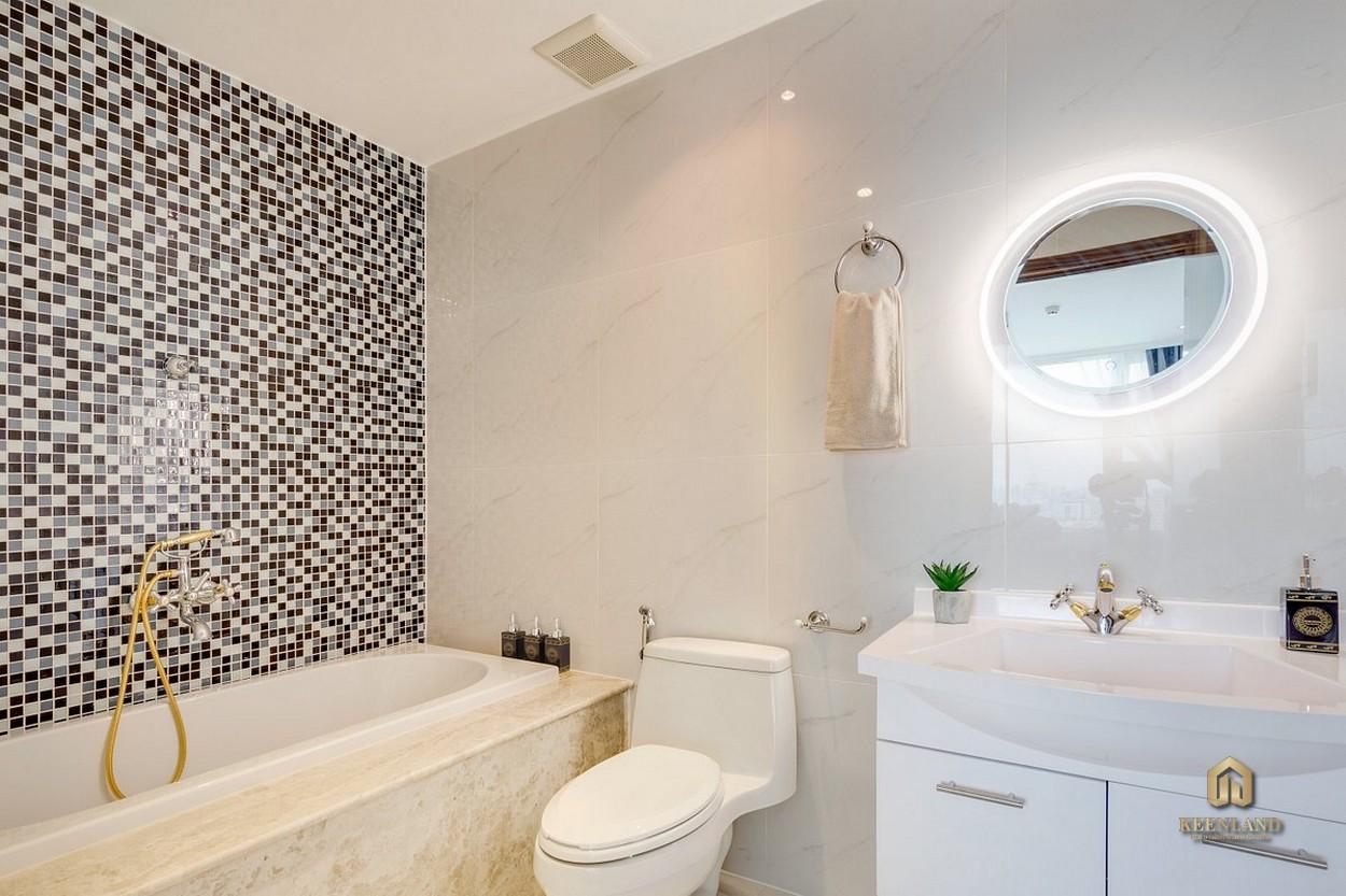 Thiết kế phòng WC căn hộ Léman Luxury Apartment