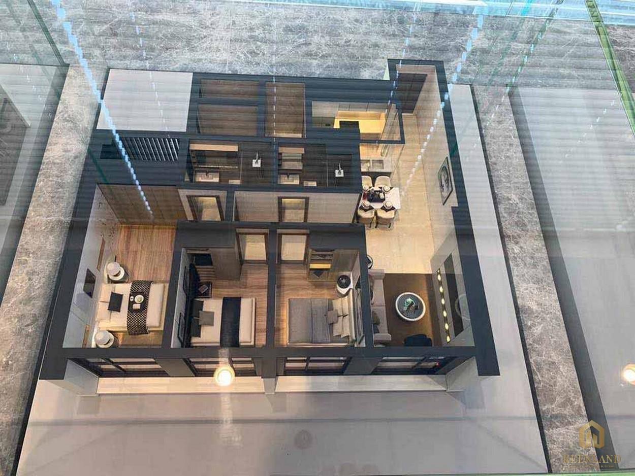 Thiết kế căn hộ điển hình dự án Mozac Thảo Điền