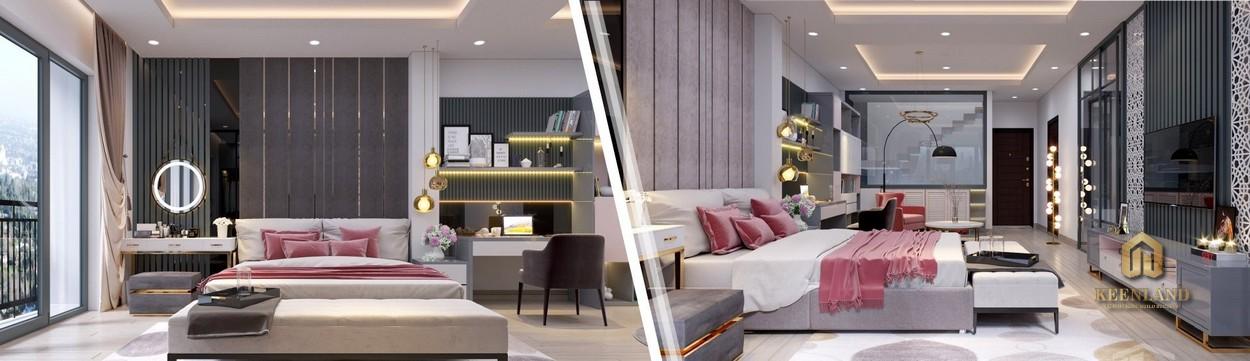Thiết kế căn hộ mẫu Newberry Residence