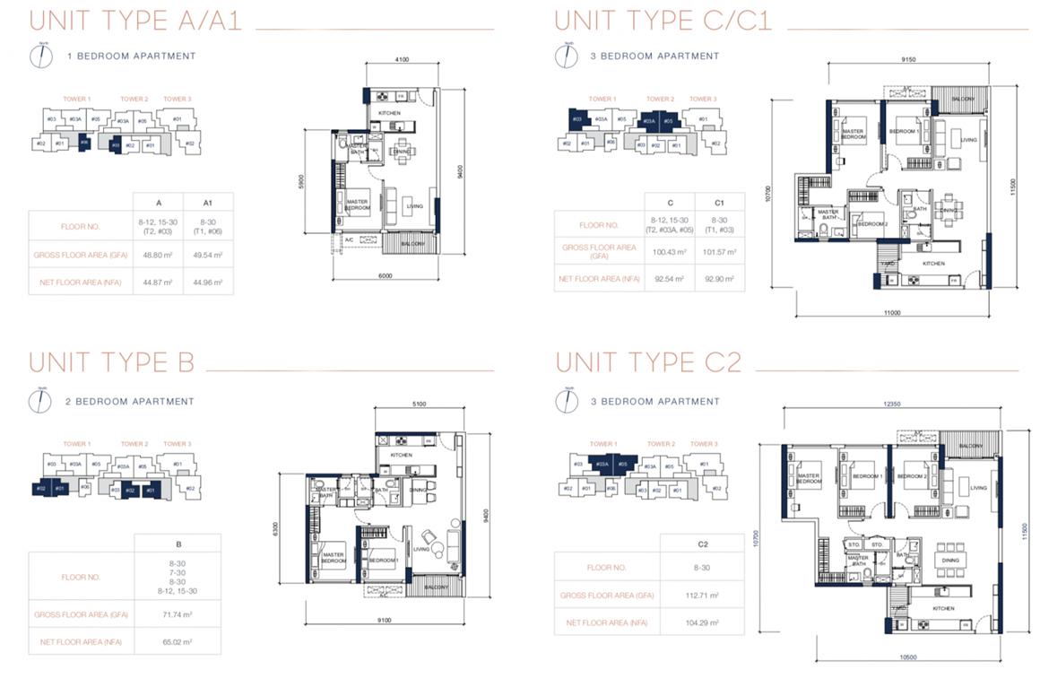 Thiết kế căn hộ cao cấp dự án Q2 Thảo Điền