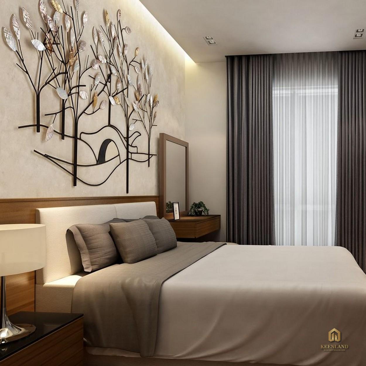 Phòng ngủ căn hộ Rivera Park Saigon