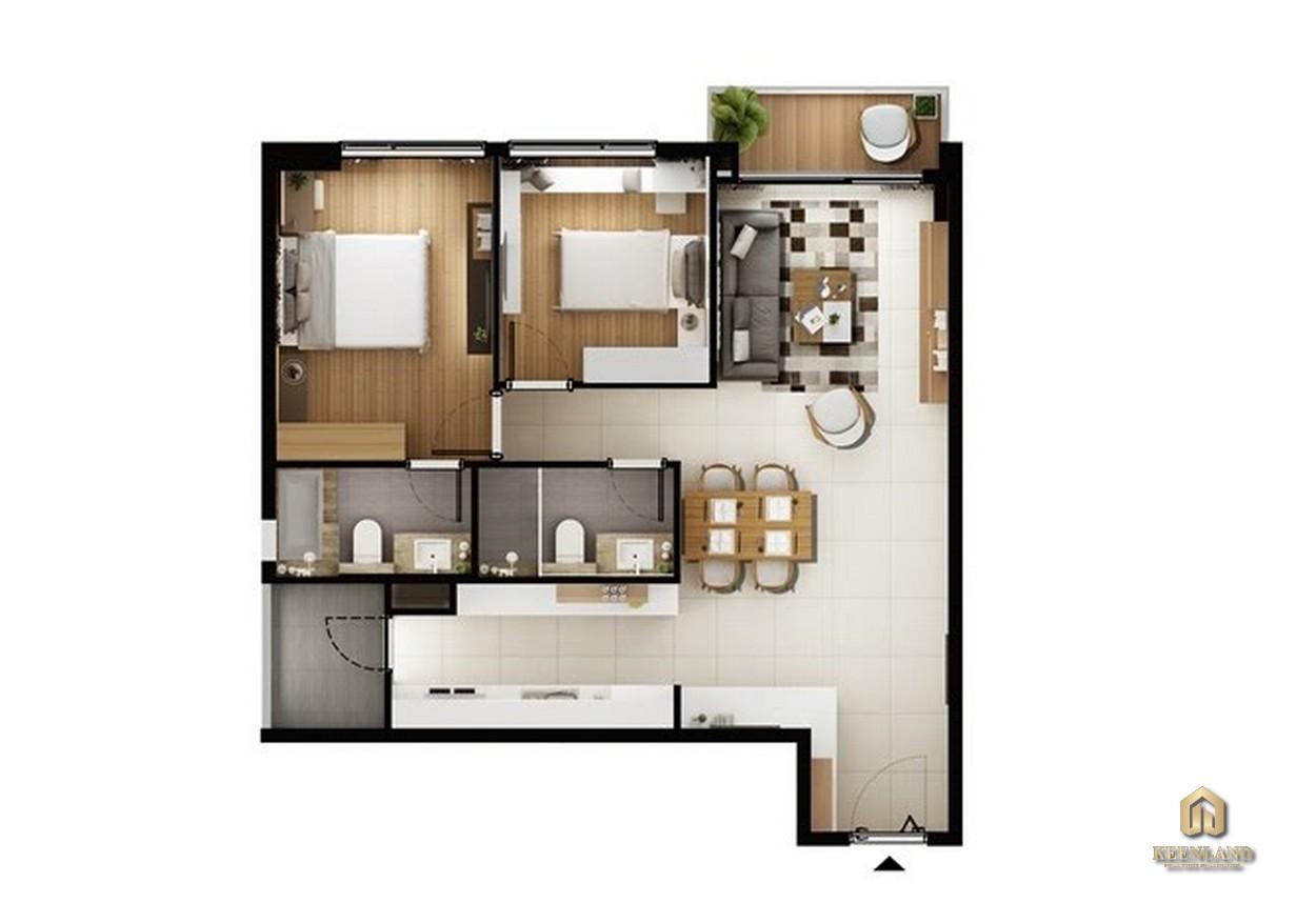 Thiết kế chi tiết căn hộ A1
