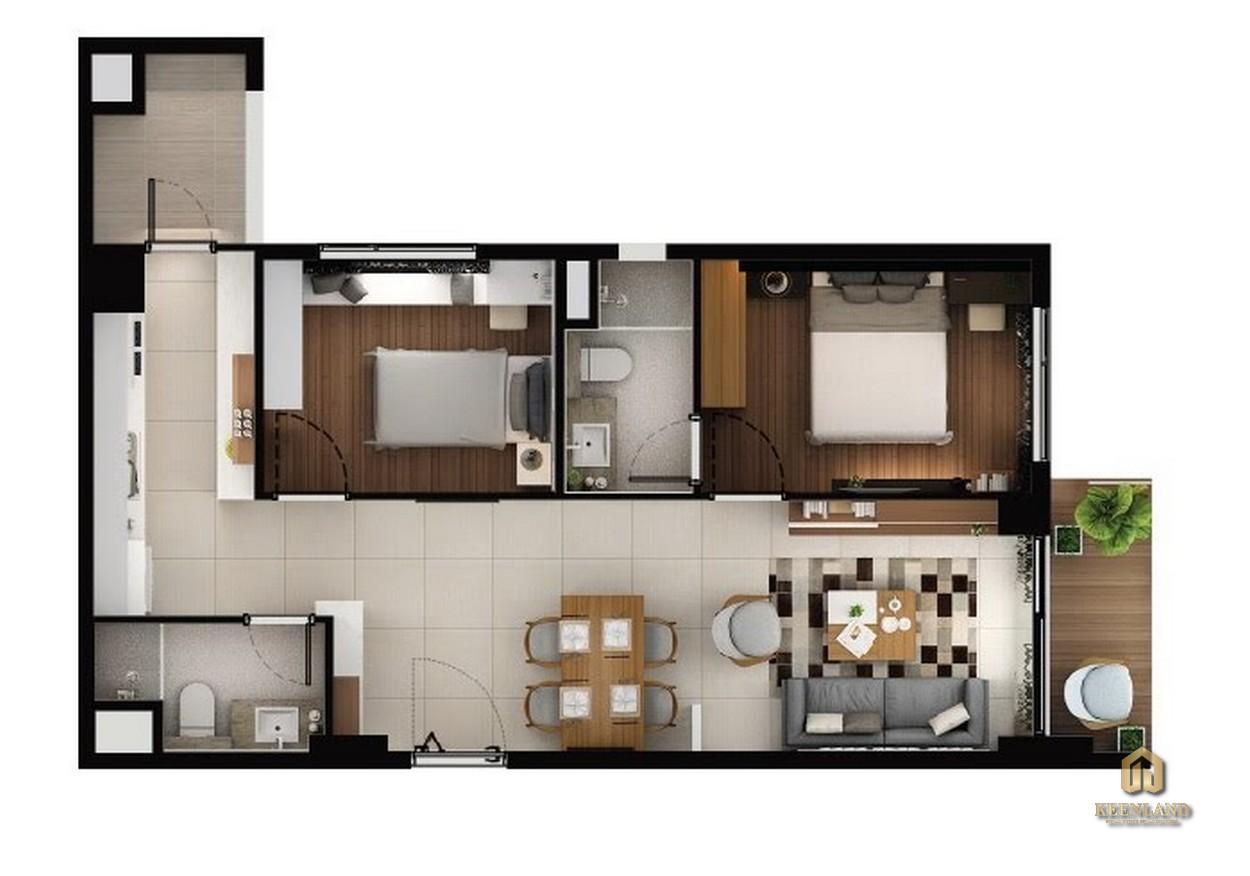 Thiết kế chi tiết căn hộ C2