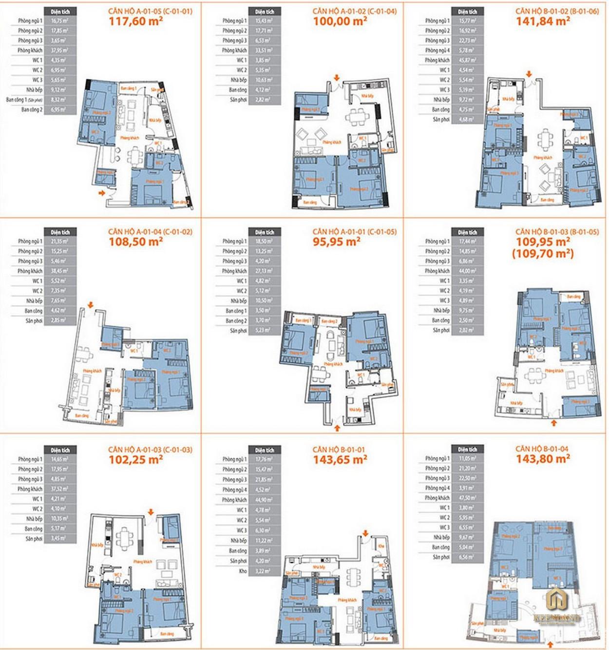 Thiết kế chi tiết căn hộ Him Lam Riverside Quận 7