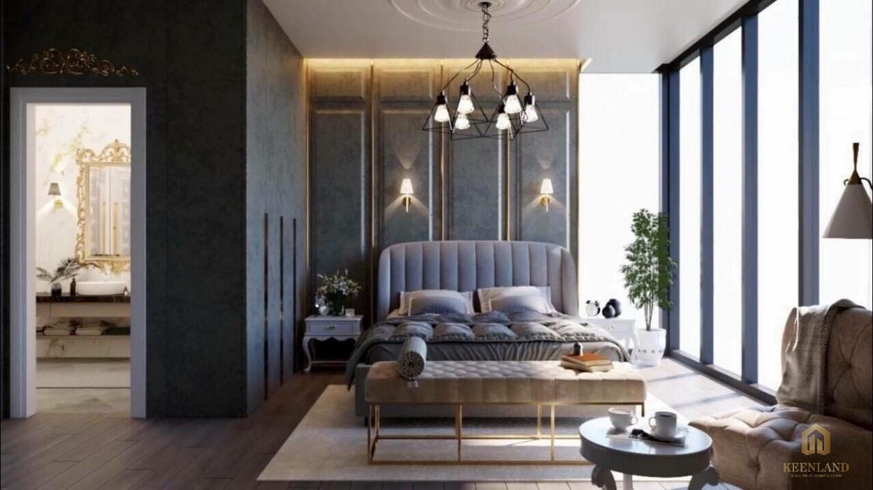 Thiết kế căn hộ mẫu tại The Palace Residence