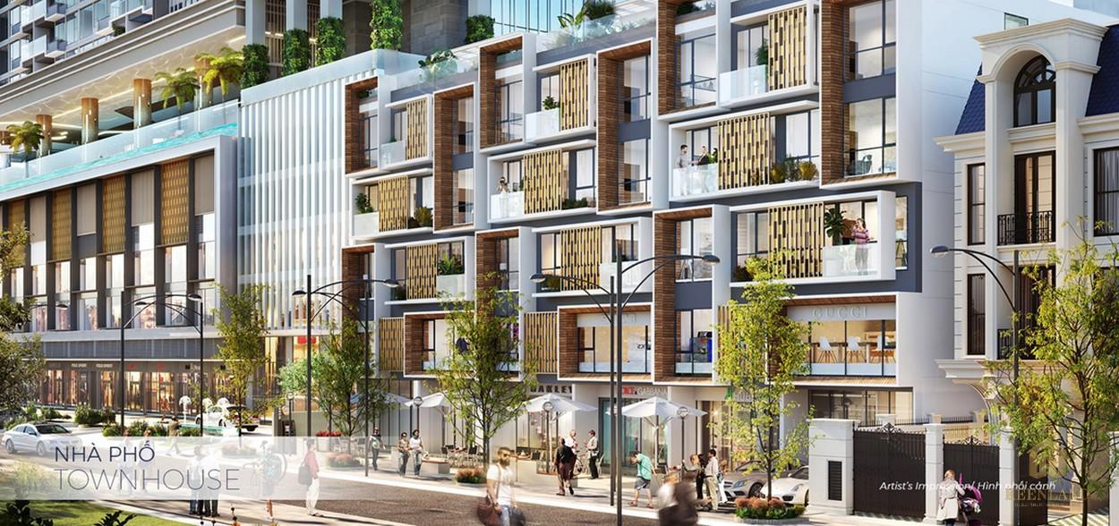 Thiết kế nhà phố dự án siêu sang Q2 Thảo Điền