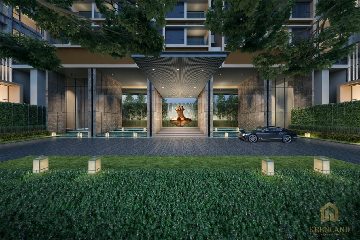 Thiết kế sang trọng tại căn hộ cao cấp The Marq quận 1