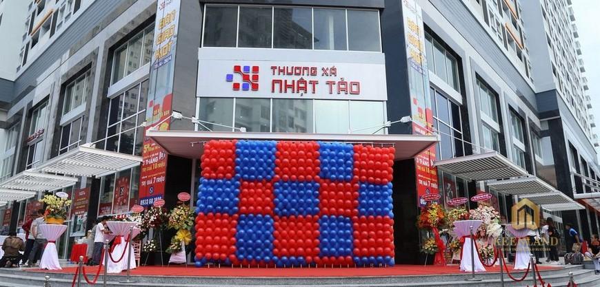 Thương xá Nhật Tảo lân cận khu chung cư Nguyễn Kim