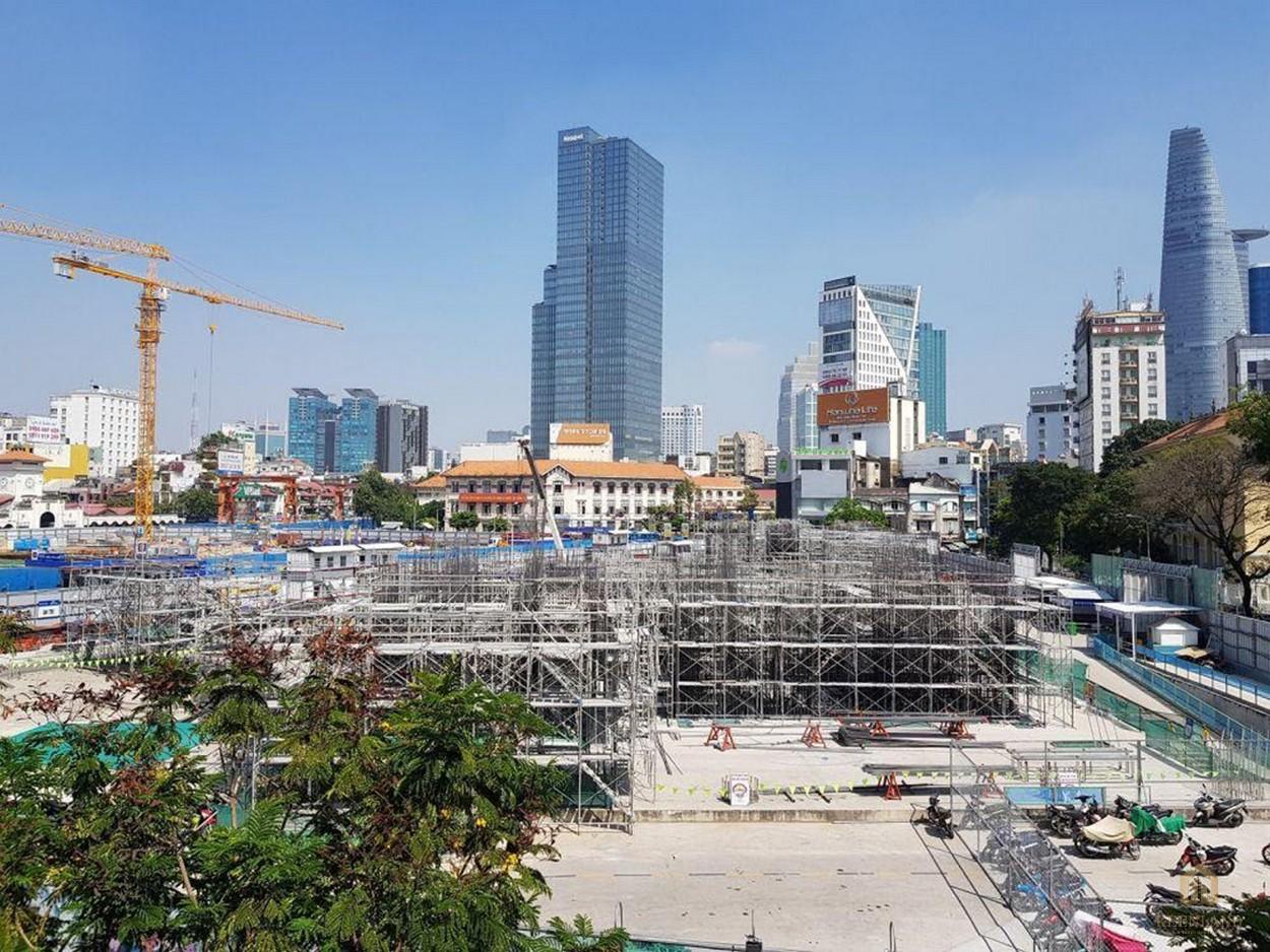 Tiến độ xây dựng dự án One Central cập nhật tháng 9/2021