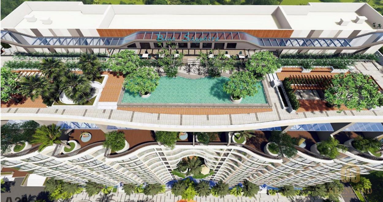 Rooftop Bar đẳng cấp tiêu chuẩn Hotel 5 sao
