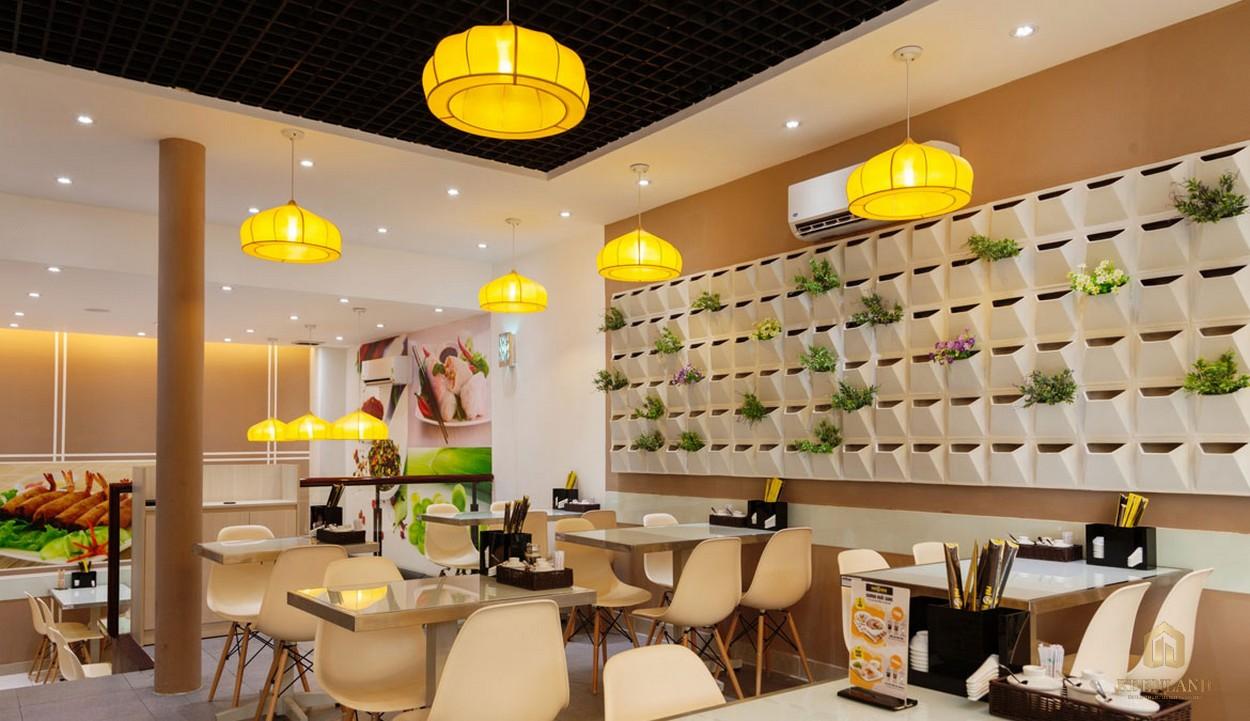 Chuỗi tiện ích nội khu các cửa hàng ăn uống,.. - dự án The Sun Avenue