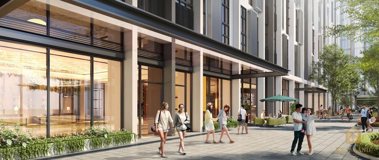 Khu shopping, mua sắm dự án căn hộ Citi Grand Quận 2