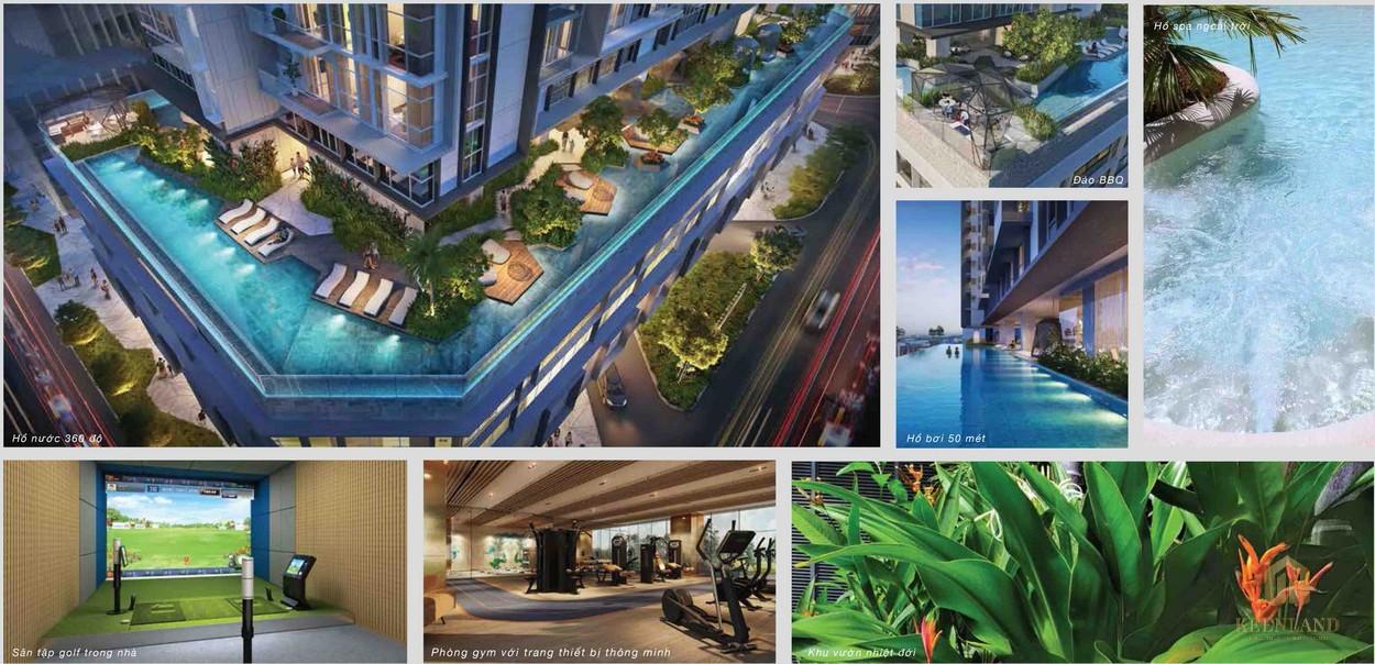 Tiện ích cao cấp tại dự án căn hộ The Metropole Thủ Thiêm