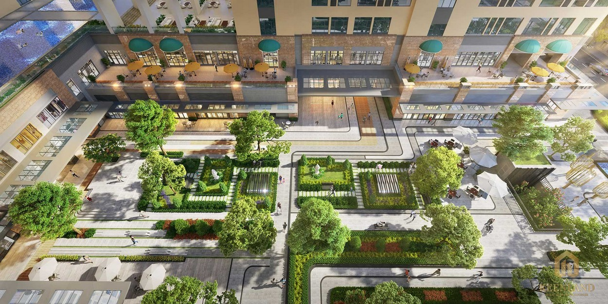 Tiện ích nội khu đa dạng dự án chung cư căn hộ Mozac Thảo Điền