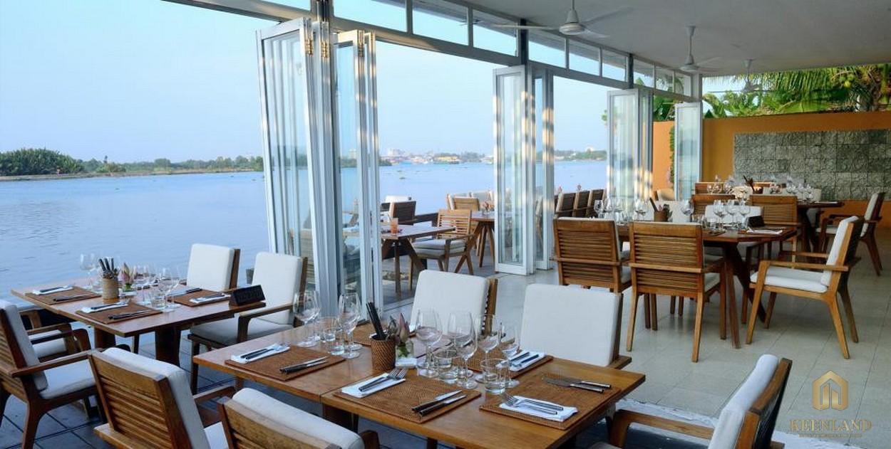 Các nhà hàng cao cấp tại dự án Nassim Thảo Điền