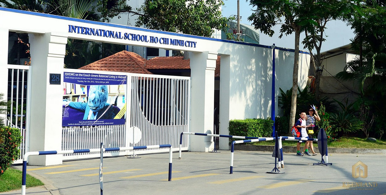 Hệ thống các trường học liền kề dự án The Nassim Thảo Điền